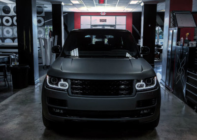 Range Rover - Grey Gun Metal Wrap